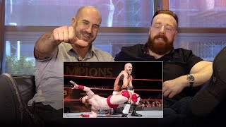 Sheamus & Cesaro rewatch the final match of their Best of Seven Series: WWE Playback