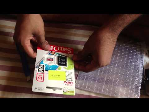 Unboxing: SanDisk Ultra 16GB MicroSDHC Class 10 UHS-1 Memory Card