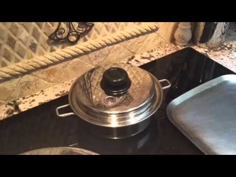 30 minute baked potato on the stove top by Healthy Cooking of Texas