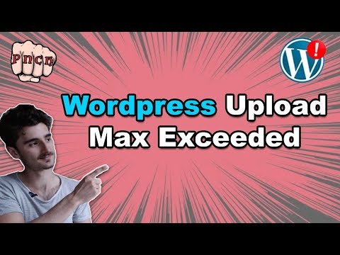 Easy Wordpress fix: The uploaded file exceeds the upload_max_filesize directive in php.ini