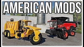 fs19 new mods new Woodshire map Challenger Terragator Agco