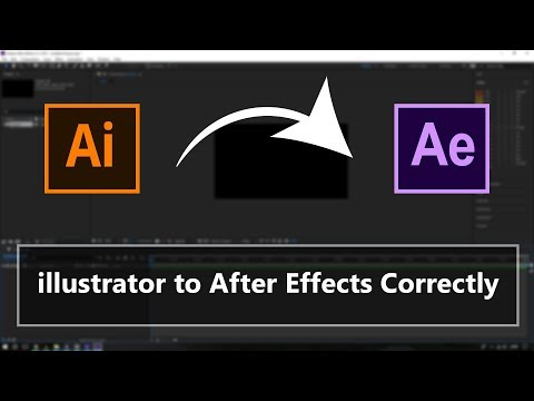 Easily Import Adobe Illustrator Files to After Effects