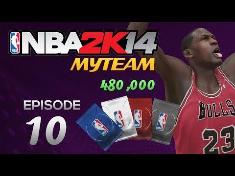 NBA 2K14 My Team HALF MILLION VC Pack Opening HIGHLIGHTS! Ep.10
