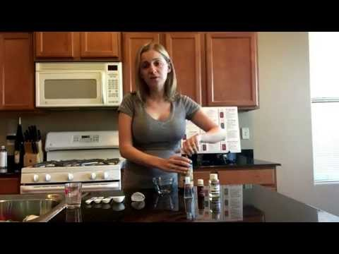 How to make homemade, safe and natural hand sanitizer with Young Living Thieves Essential Oil