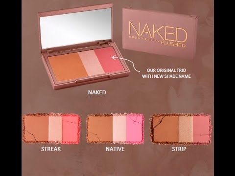URBAN DECAY NAKED FLUSHED PALETTES REVIEW
