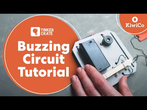Make Buzzing Circuits - Tinker Crate Project