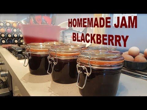 How to make Blackberry Jam - very easy recipe
