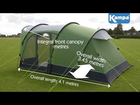 Kampa  Brean 5 Poled  Overview