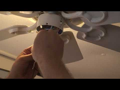 Replacing The Pull Chain Switch On The Hampton Bay Ceiling Fan