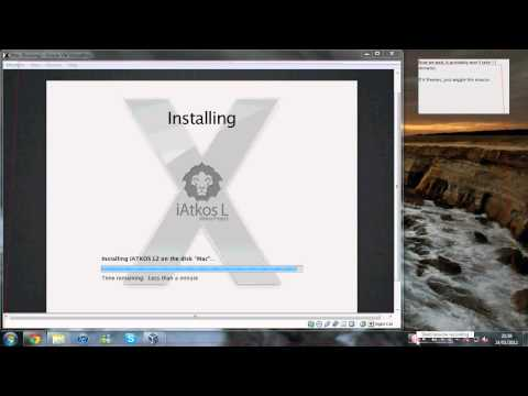 How to install Mac OS X Lion onto VirtualBox