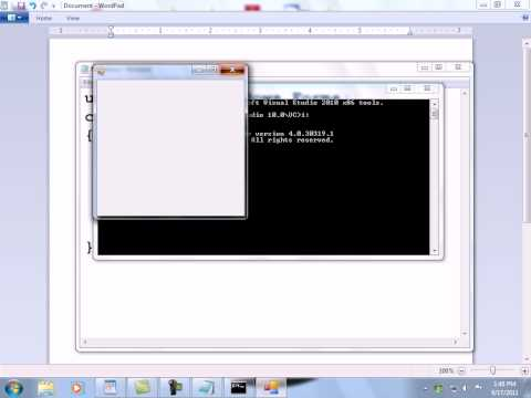 How to Create Windows Form in C# .Net (Hindi/Urdu) (Windows Applications)