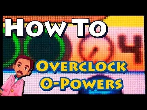 HOW TO Overclock O-Powers in Pokemon XY & ORAS