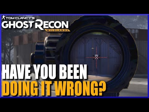 The Correct Way to Aim at Targets in GHOST RECON WILDLANDS