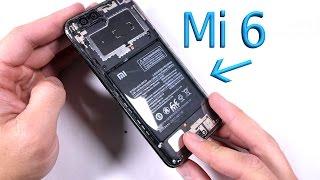 Mi 6 Teardown - Splash Proof Analysis - Clear Back Mod!