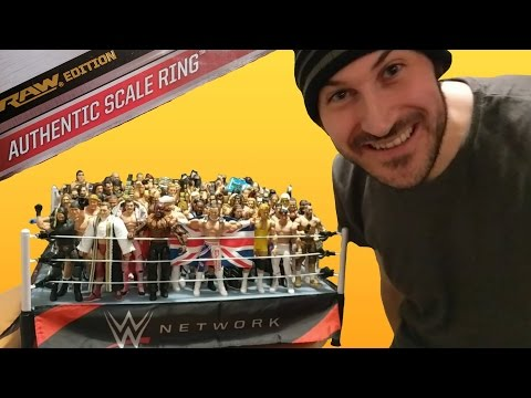 HUGE REVIEW - AUTHENTIC WWE SCALE RING (MATTEL UNBOXING & ASSEMBLY!!!)