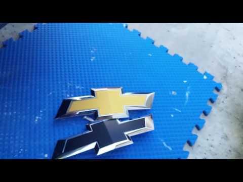 2016, 2017, 2018 Silverado Black Front Bowtie Removal & Install