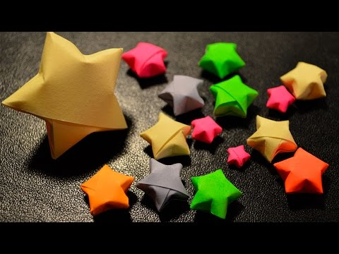 How to Make Paper Lucky Stars