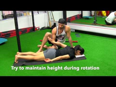 Shoulder Extension Exercise Part 2