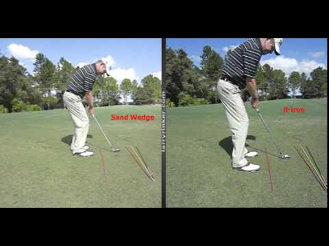 Hot to hit low trajectory chip shots into the grain