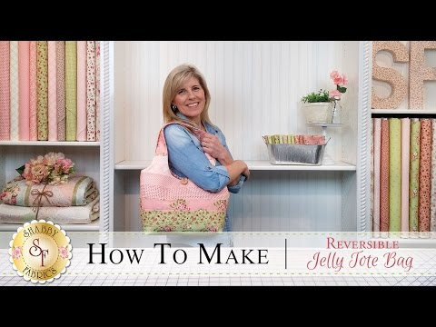 How to Make a Reversible Jelly Roll Bag |a Shabby Fabrics Sewing Tutorial