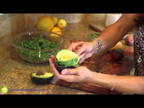 Arugula Toasted Almond Salad With Black Beans & Citrus Dressing