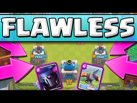 FLAWLESS GAMEPLAY ::  Clash Royale  ::  THEY CAN'T TOUCH MY TOWERS!