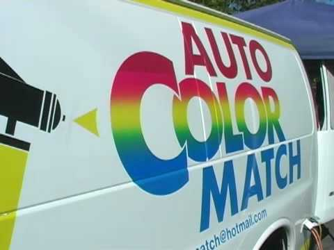 Auto Color Match On Site Paint Repair Franchise Opportunity