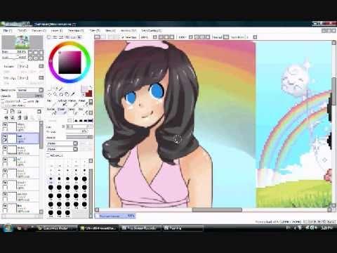 Gaia Avatar Speed Paint