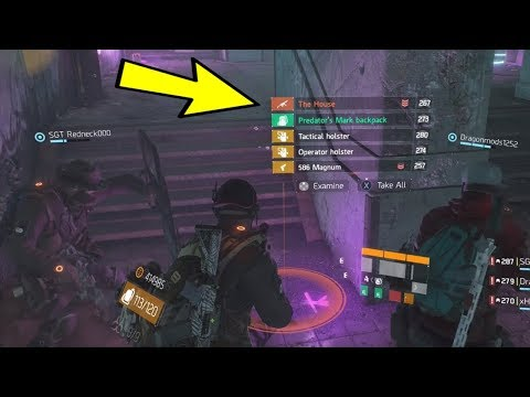 HOW TO MAKE THE HOUSE DROP EVERY TIME!! | THE DIVISION EXOTIC LOOT GLITCH