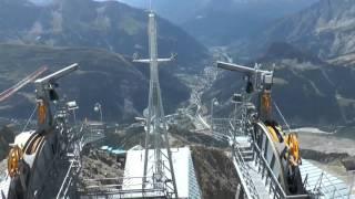 Monte Bianco - Mont Blanc - traversata da Punta Helbronner