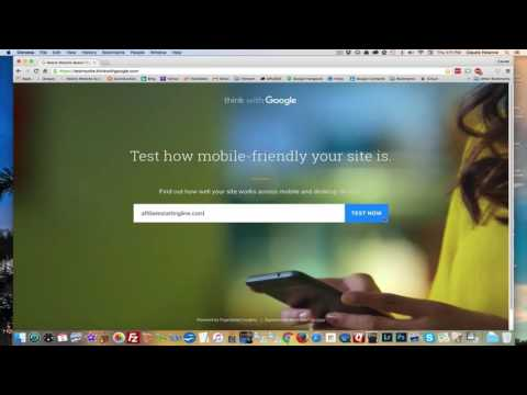 TestMySite Google Tool