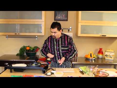 Azteca Food's Chef Gustavo Presents Breakfast Wrap Tips