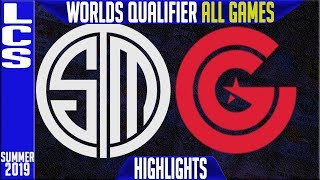 Download TSM vs CG Highlights ALL GAMES | LCS Summer 2019 Worlds Qualifier | Team Solomid vs Clutch Gaming Video