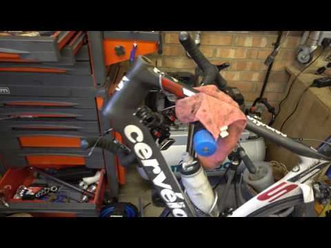 How to change a bicycle Threadless Headset (AHeadset)