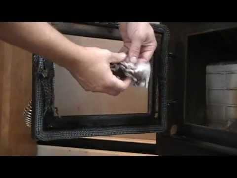 How To Clean Your Pellet Stove Door Glass The Easy Way