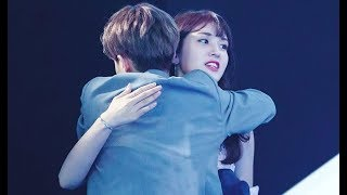 Jeon Somi Spotted Supporting For Lee Dae Hwi At Wanna One's Debut Show-Con