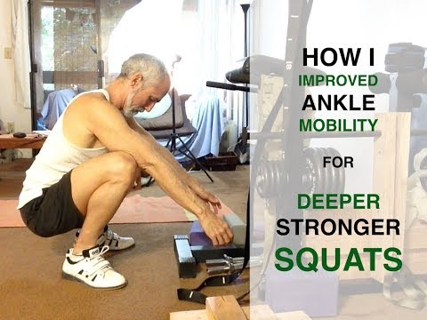 How To Improve Ankle Mobility for Squats | This Squat University Routine Works!