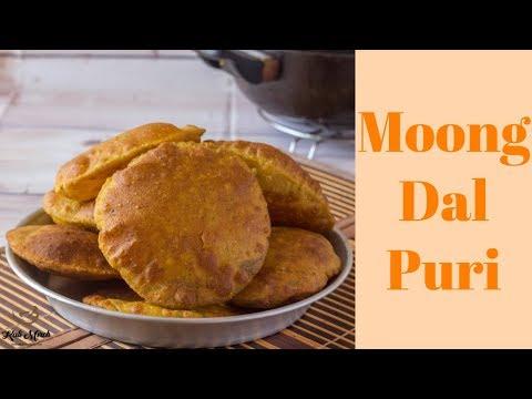 Moong Dal Puri Recipe-Moong Dal Puri Recipe in Hindi-Kalimirchbysmita-Ep299