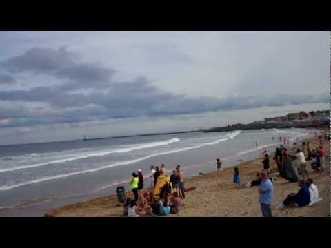 Red Arrows at Sunderland Airshow 2012