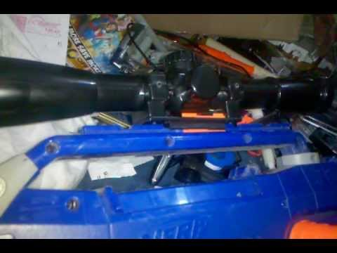 Busbee scope transformed into NERF