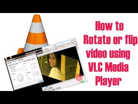 How to Flip or Rotate a Video in VLC media player