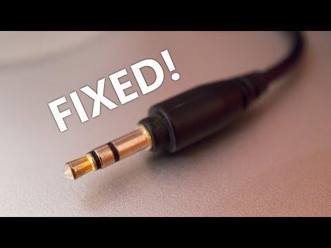 How to fix a broken headphone jack