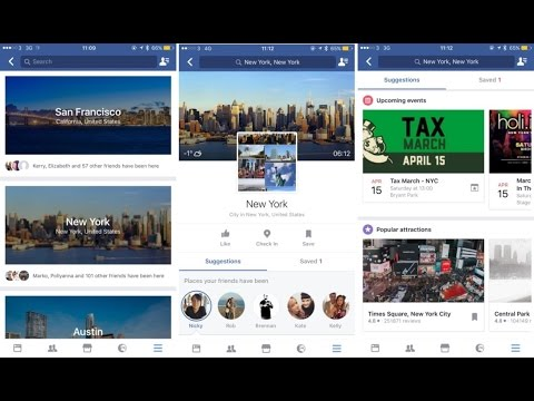 Facebook adds a travel-planning feature :