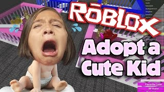 ROBLOX: ADOPT AND RAISE A CUTE KID!!! Gaming with Jillian