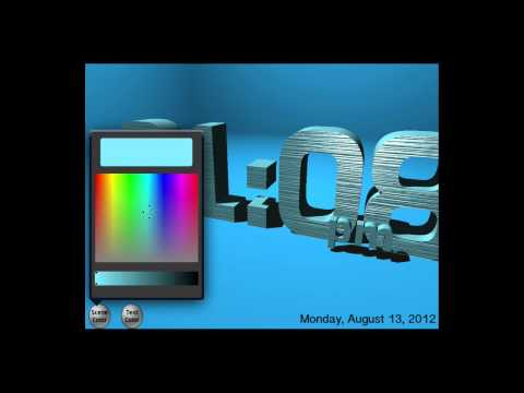 3D Clock HD: 3D Clock HD for iPad
