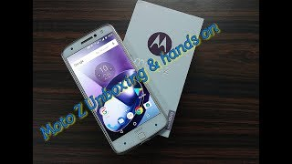 Moto Z With Style Mod Unboxing & Hands On Bought From Flipkart