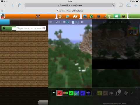 How to change your skin on minecraft pe