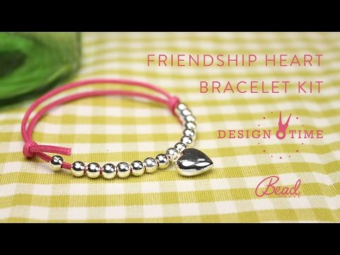 Friendship Heart Bracelet Kit - Design Time