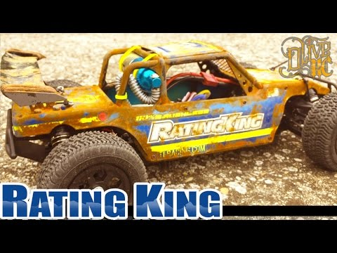 RC CUSTOM BUGGY 1/14 Rusted Rating King