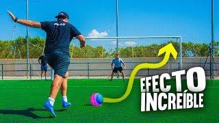 PENALTIS con EFECTO INCREÍBLE ¡Retos de fútbol! [Crazy Crew] PYR CHALLENGE